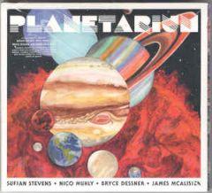 Planetarium - CD / Sufjan Stevens | Nico Muhly | Bryce Dessner | James McAlister  / 2017