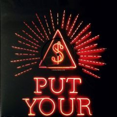 "Put Your Money On Me - 12"" (Rød Vinyl) / Arcade Fire / 2018"