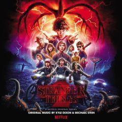 Stranger Things Season 2 OST - 2LP (Sort vinyl) / Kyle Dixon & Michael Stein   Soundtrack / 2017
