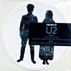 """Lights of Home - 12"""" (RSD 2018 Picture Disc Vinyl) / U2 / 2018"""