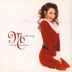 Merry Christmas - LP (Rød vinyl) / Mariah Carey / 1994 / 2015