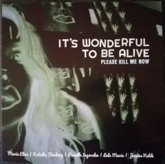 It's Wonderful To Be Alive - Please Kill Me Now - LP (Pink vinyl) / Peter Peter & Peter Kyed m.fl. / 2017/2018