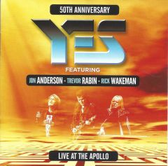 50th Anniversary - Live At The Apollo - 2CD / Yes featuring Jon Anderson | Trevor Rabin | Rick Wakeman / 2018