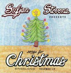 """Songs For Christmas - 5LP+12"""" EP (Bokssæt) / Sufjan Stevens / 2006 / 2018"""