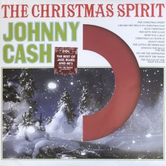 The Christmas Spirit - LP (Rød vinyl) / Johnny Cash / 2013