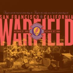 The Warfield | October 9th & 10th 1980 - 2CD (RSD 2019) / Grateful Dead / 2019