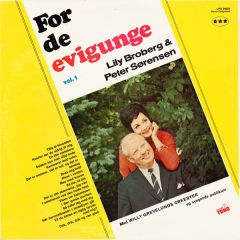 For de evig unge - LP / Lilly broberg / Peter Sørensen  / 1967