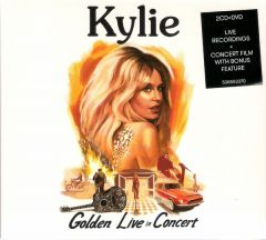Kylie - Golden - Live in Concert - 2CD+DVD / Kylie Minogue / 2019