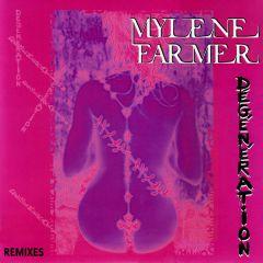 """Dégénération (Remixes) - 12"""" Vinyl / Mylene Farmer / 2008"""
