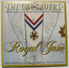 Royal Jam (2LP) / The Crusaders With B.B. King & The Royal Philharmonic Orchestra / 1982
