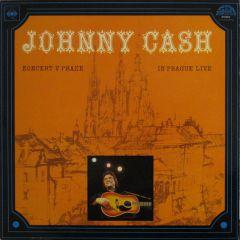 Koncert v Praze (In Prague Live) - CD / Johnny Cash / 2016