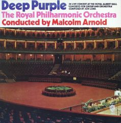Concerto For Group And Orchestra - LP / Deep Purple, The Royal Philharmonic Orchestra  / 1970