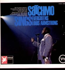 Satchmo Sings Evergreens - LP / Louis Armstrong / 1966