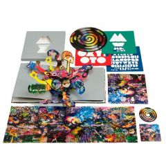 Mylo Xyloto - LP (Picture disc)+CD+Stencils+Stickers+Bog / Coldplay / 2011