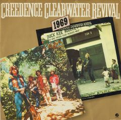 1969 (Green river + Willy & the poorboys) - 2LP / Creedence Clearwater Revival / 1978