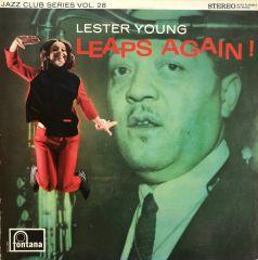 Leaps Again! - LP / Lester Young  / 1966