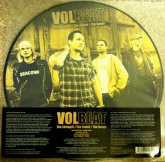 The Strength / The Sound / The Songs - LP (Picture Disc Vinyl) / Volbeat / 2004 / 2011