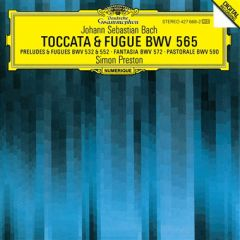 Toccata & Fugue BWV 565 - CD / Johan Sebastian Bach   Simon Preston / 1989
