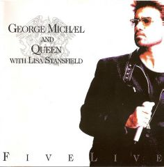 Five Live - CD / George Michael and Queen with Lisa Stainsfield / 1993