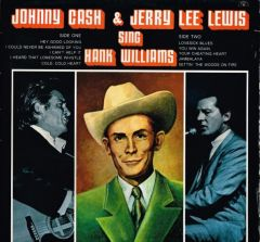Johnny Cash & Jerry Lee Lewis Sing Hank Williams - LP / Johnny Cash & Jerry Lee Lewis ‎