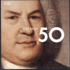 Best Bach 50 - 3CD / Johann Sebastian Bach | Various Arists / 2006