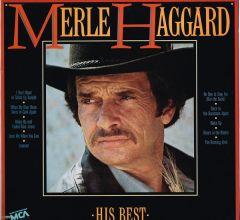 His Best - LP / Merle Haggard / 1985