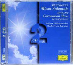 Missa Solemnis / Coronation Mass - 2CD / Beethoven / Mozart / 1976