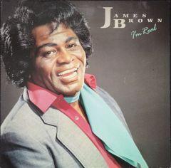 I'm Real - LP (farvet vinyl) / James Brown / 1988