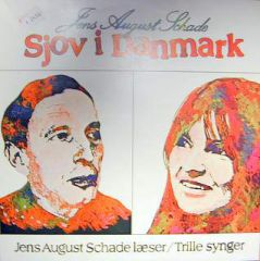 Sjov i Danmark (Jens August Schade) - LP / Trille / 1977