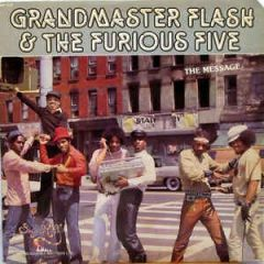 The Message - LP / Grandmaster Flash & The Furious Five / 1982