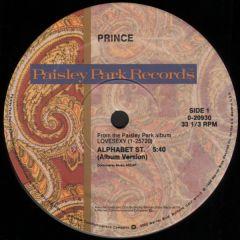 """Alphabet St. - 12"""" Vinyl / Prince / 1988"""