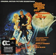 James Bond Diamonds Are Forever (Original Motion Picture Soundtrack) - LP / John Barry | Soundtrack / 2015