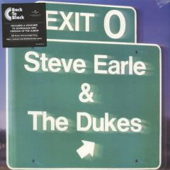 Exit 0 - LP / Steve Earle / 1987 / 2016