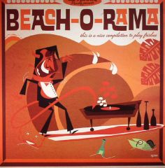 Beach-O-Rama - LP+CD / Various Artists / 2016