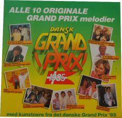 Dansk Grand Prix 1985 - LP / Various  / 1985