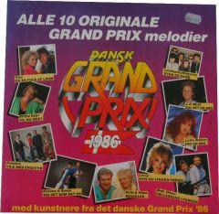 Dansk Grand Prix 1986 - LP / Various  / 1986