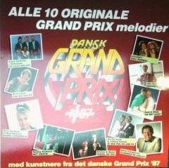 Dansk Grand Prix 1987 - LP / Various / 1987