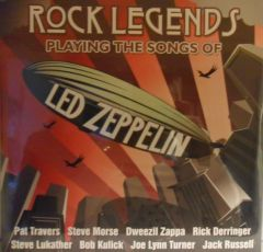 Rock Legends Playing The Songs Of Led Zeppelin - 2LP / Various Artists | Led Zeppelin Tribute / 2008 / 2018