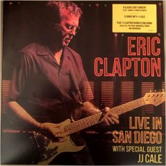 Live In San Diego - 3LP / Eric Clapton feat. JJ Cale / 2016