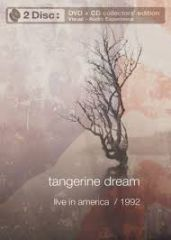 Live In America 1992 - DVD+CD / Tangerine Dream / 2004