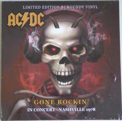 Gone Rockin' - In Concert - Nashville 1978 - LP (Farvet vinyl) / AC/DC / 2019