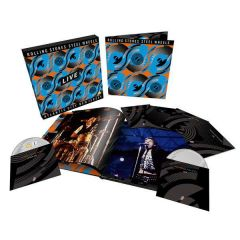 Steel Wheels Live - 3CD+2DVD+Blu-ray (Limited edition) / The Rolling Stones / 1989 / 2020