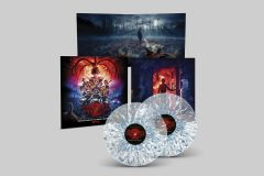 Stranger Things Season 2 OST - 2LP (Clear with White & Blue Splatter Version) / Kyle Dixion & Michael Stein | Soundtrack / 2017