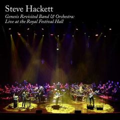 Genesis Revisited Band & Orchestra | Live At The Royal Festival Hall - 2CD+Blu-Ray / Steve Hackett / 2019