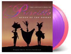 The Adventures Of Priscilla Queen Of The Desert - 2LP (Farvet vinyl) / Soundtrack   Various Artists / 2019