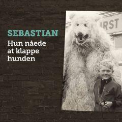 Hun nåede at klappe hunden - CD / Sebastian / 2019