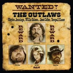 Wanted! The Outlaws - LP / Waylon Jennings | Willie Nelson | Jessi Colter | Tompall Glaser / 1976 / 2019