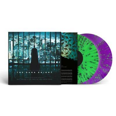 The Dark Knight (Original Motion Picture Soundtrack) - 2LP (Grøn & Violet Splatter Vinyl) / Hans Zimmer   James Newton Howard / 2008/2021