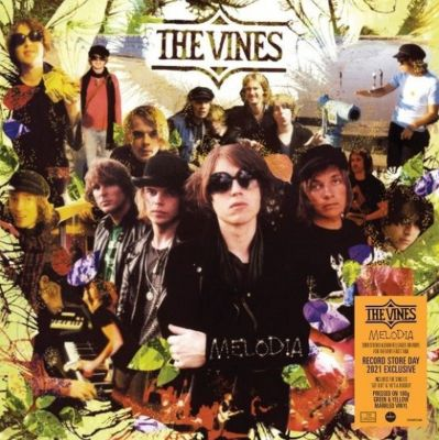 Melodia - LP (RSD 2021 Gennemsigtig Lime Marble Vinyl) / The Vines / 2008/2021