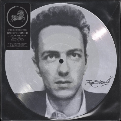 "Junco Partner (Acoustic) - 12"" Picture Disc Single (RSD 2021 Vinyl) / Joe Strummer / 2001/2021"